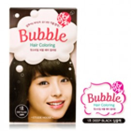 ETUDE HOUSE-Bubble Hair Coloring - #01 BLACK 30ml