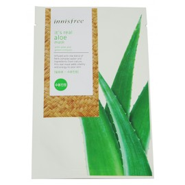 INNISFREE-It's Real Aloe Sheet Mask(2012 Upgrade Version) 20ml