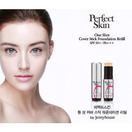 PERFECT SKIN-One Shot Cover Stick Foundation (Color 21 Lt. Beige) 12.5g